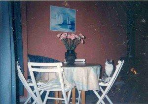 rue Etienne Dolet la salle à manger aux fleurs